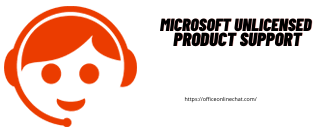 Microsoft unlicensed product